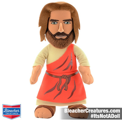 "The Official 10"" Jesus Bleacher Creature. $19.99 and available at www.bleachercreatures.com"
