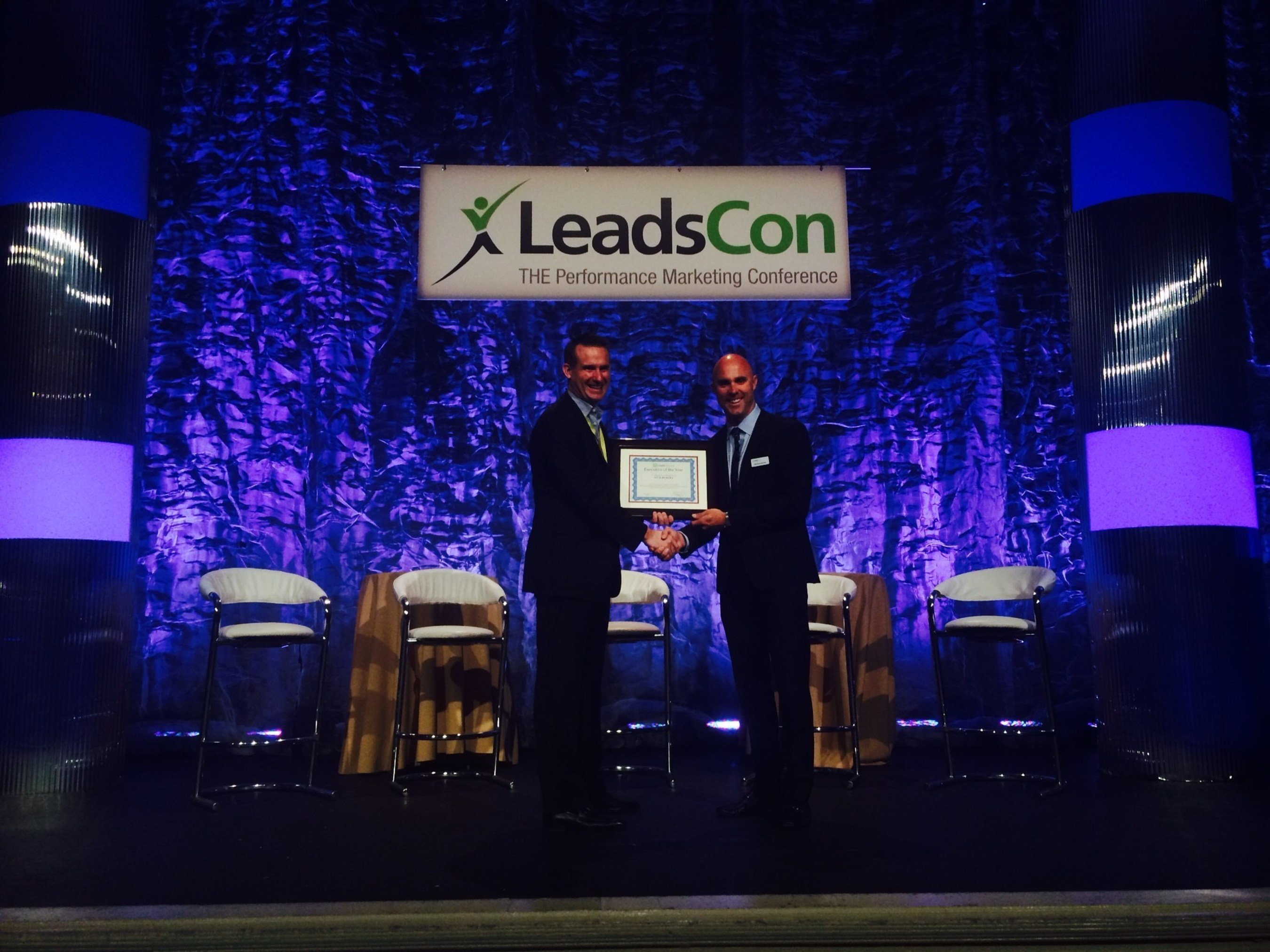 Velocify CEO Nick Hedges Named Executive of the Year by LeadsCouncil