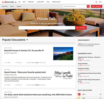 House Talk Home Page
