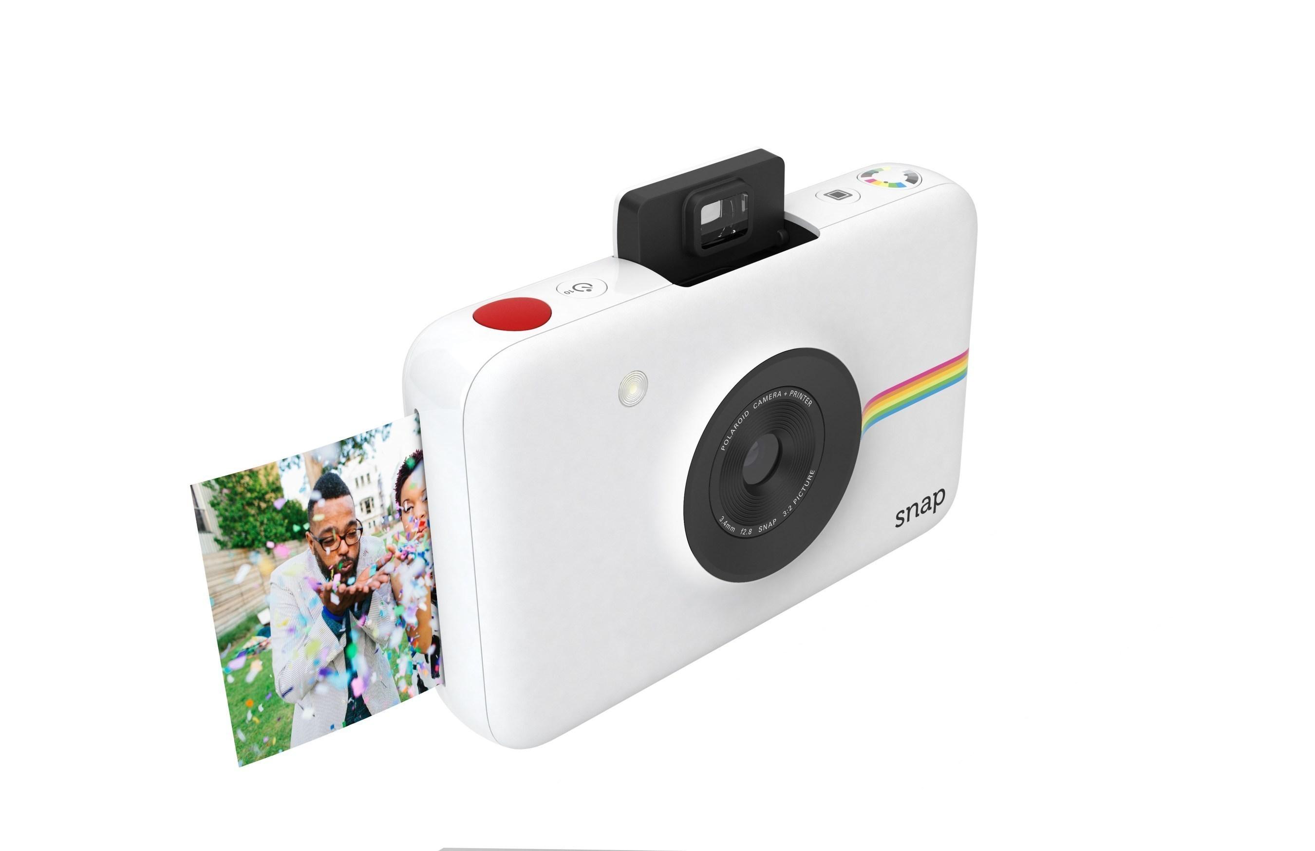 1c4b6d654d545 Recrie a magia da fotografia instantânea clássica com a câmera digital instantânea  Polaroid Snap e compartilhe a diversão com um snap, uma impressão
