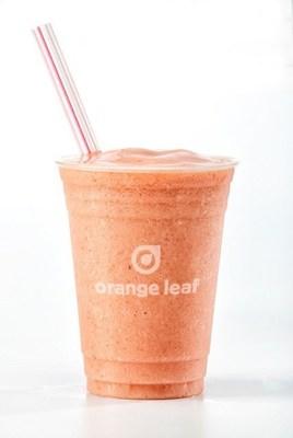 Orange Leaf Frozen Yogurt Introduces Three New Self-Serve Smoothies (PRNewsFoto/Orange Leaf Frozen Yogurt)