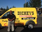 Thomas Driver will open his first Dickey's Barbecue Pit in Port Orchard on Thursday. The grand opening is three days with big giveaways like free barbecue for a year. (PRNewsFoto/Dickey's Barbecue)