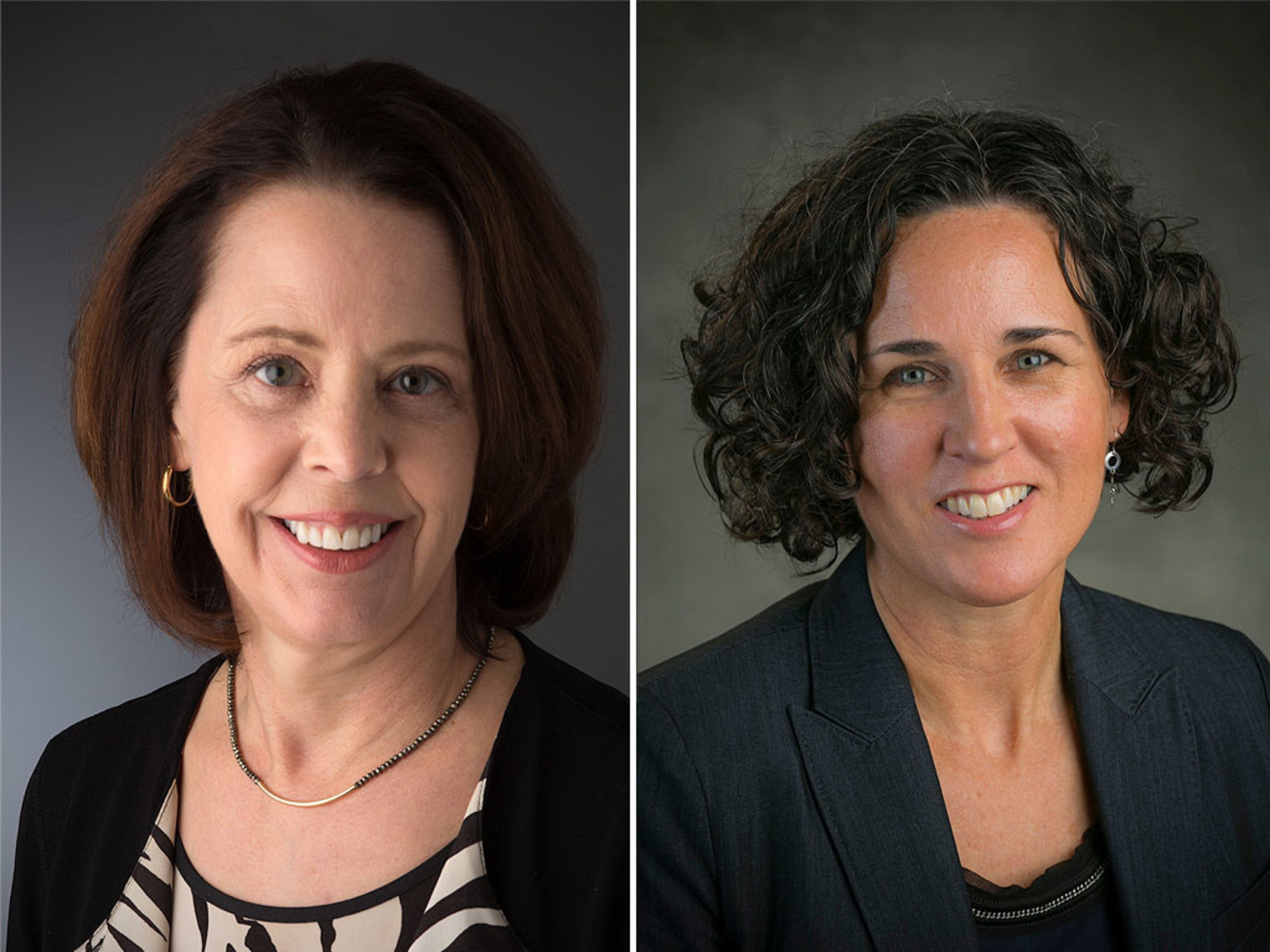 Diana Hess and Paula McAvoy, recipients of the 2017 University of Louisville Grawemeyer Award in Education