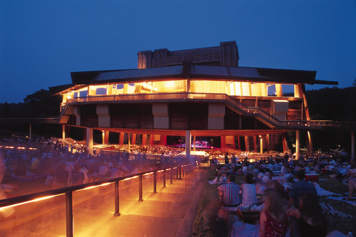 The Filene Center at Wolf Trap National Park for the Performing Arts. Photo taken by Scott Suchman.  ...