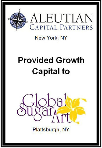Aleutian Capital Partners Invests in Global Sugar Art, A Leading Online Retailer of Baking and Cake