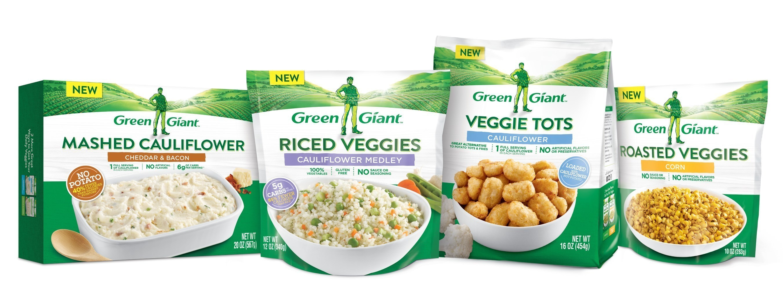Green Giant(R) Returns With A Purpose -- To Help America Swap In More Veggies