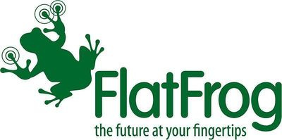 FlatFrog logo (PRNewsFoto/FlatFrog)