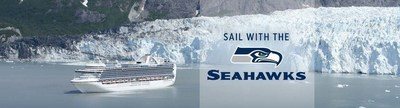 "Princess Cruises has announced the players and alumni joining the ""Sail with the 12s"" Seattle Seahawks Fan Cruise aboard Crown Princess on June 20."