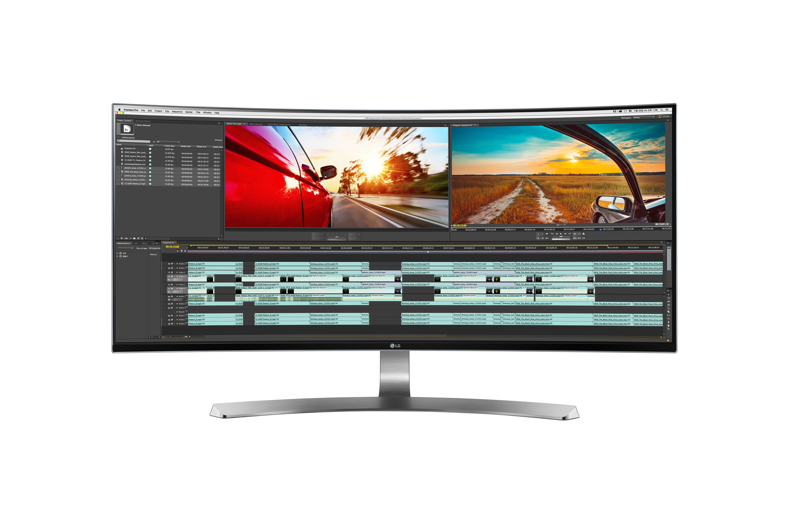 At CES(R) 2016, LG will showcase its newest 21:9 UltraWide(R) monitors, including the curved UC98.
