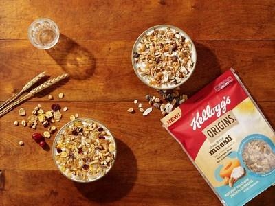 Kellogg's Origins(TM) Fruit & Nut Muesli: Apricot Cashew Coconut with Almonds