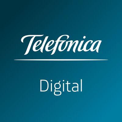 Telefónica Digital logo.
