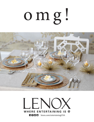 Lenox: Gilded Tapestry.  (PRNewsFoto/Lenox Corporation)