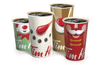 Tim Hortons® Launches First Interactive Holiday Cup -- Phones & Filters Not Needed