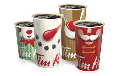 Tim Hortons Holiday Cups