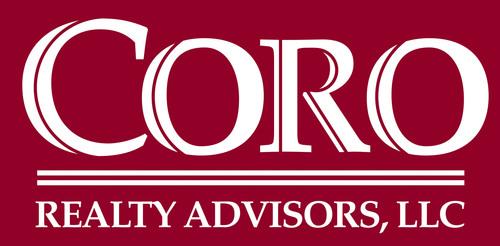 Coro Realty Logo. (PRNewsFoto/Coro Realty Advisors, LLC) (PRNewsFoto/CORO REALTY ADVISORS, LLC)