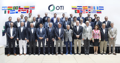 Representatives from OTI member companies gathered in Miami for the relaunch of the organization.