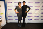 Jennifer Hudson and Baltimore Mayor Stephanie Rawlings-Blake launch Weight Watchers grant program.  (PRNewsFoto/Weight Watchers International, Inc., Nick Wass/AP Images for Weight Watchers)
