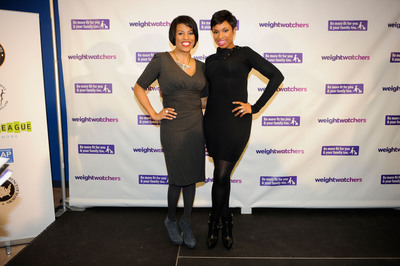 Jennifer Hudson and Baltimore Mayor Stephanie Rawlings-Blake launch Weight Watchers grant program. (PRNewsFoto/Weight Watchers International, Inc., Nick Wass/AP Images for Weight Watchers) (PRNewsFoto/WEIGHT WATCHERS INTERNATIONAL)