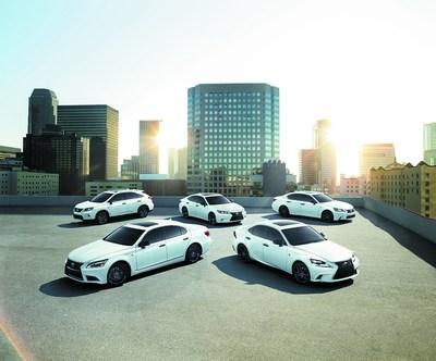 2015 Lexus Crafted Line Family. (PRNewsFoto/Lexus)