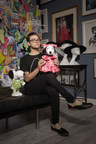 DESIGNER CHRISTIAN SIRIANO CREATES LOOKS FOR SNOOPY AND HIS SISTER BELLE IN A NEW EXHIBIT AT THE NEW MUSEUM'S SKY ROOM THIS NEW YORK CITY FASHION WEEK. (PRNewsFoto/Peanuts Worldwide)