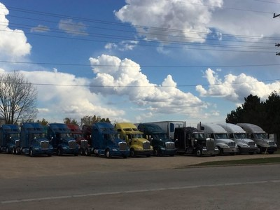 Our fleet of trucks for sale