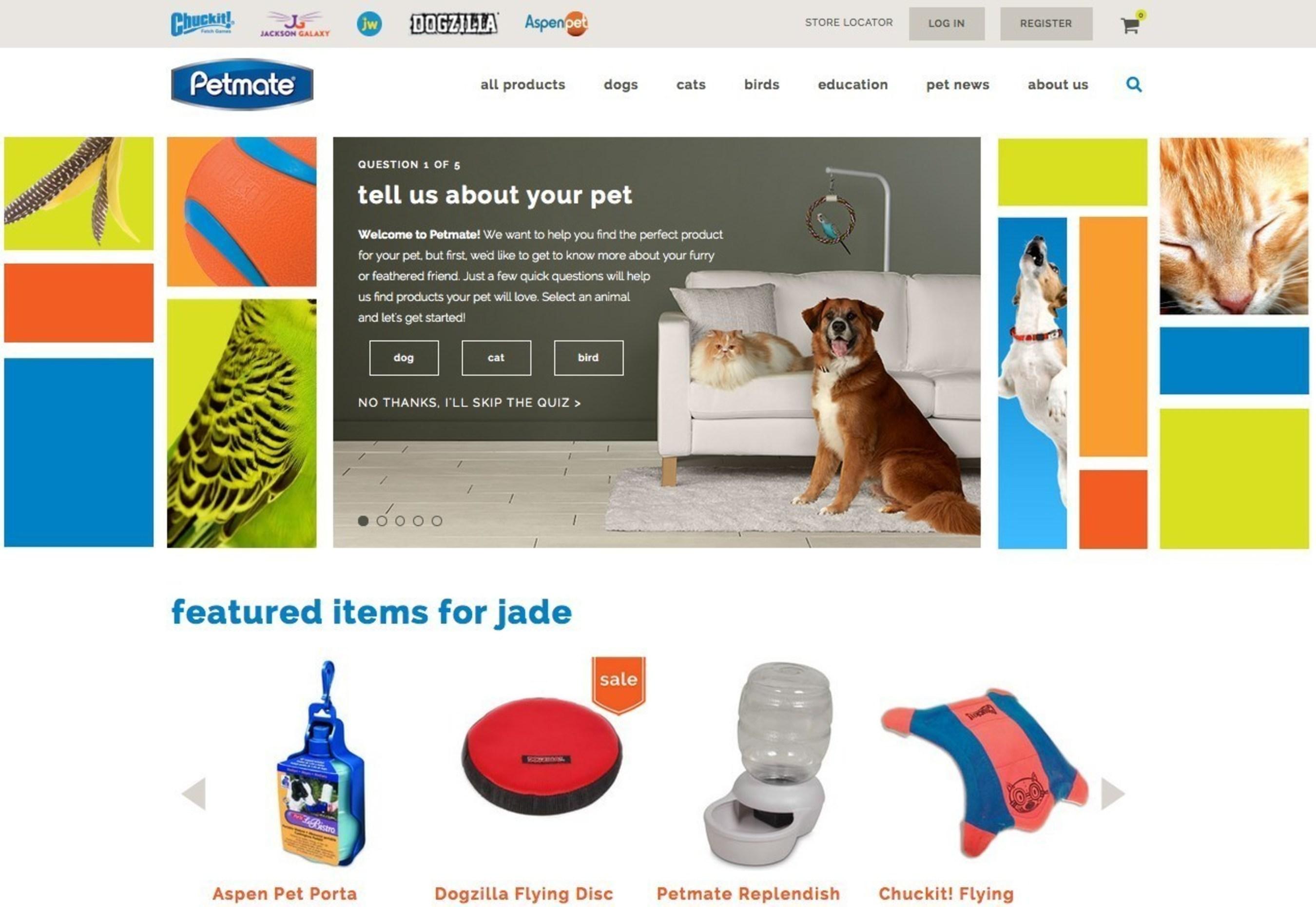 Petmate' Launches New E-commerce Website
