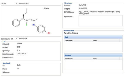 Accelrys Chemical Registration 3.2 supports enhanced stereochemistry.  (PRNewsFoto/Accelrys, Inc.)