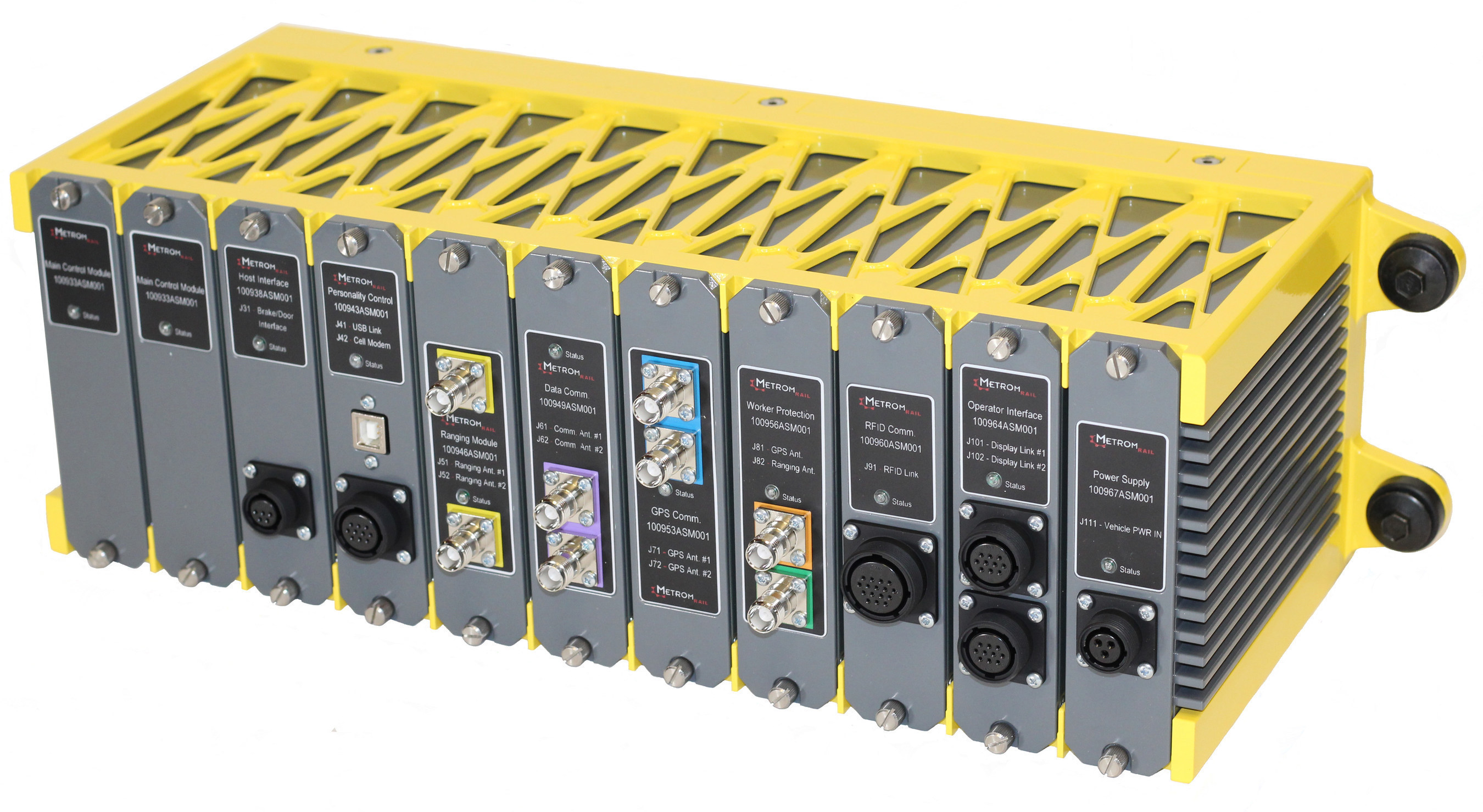 Metrom Rail released a new, modular PTC solution for transit agencies. The AURA Positive Train Control System provides collision avoidance, speed and signal compliance, precision berthing, and worker protection in both above and underground environments.