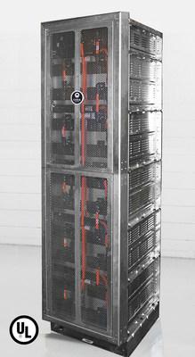 CODA Energy's UL Listed CODA Core 50kWh Energy Storage Tower.