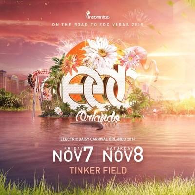 Electric Daisy Carnival, Orlando at Tinker Field on November 7-8, 2014 (PRNewsFoto/Insomniac)