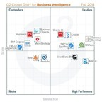 G2 Crowd announces Fall 2014 rankings of the best Business Intelligence (BI) software