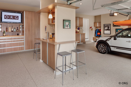 Make more of your garage than a place to park with ORG storage solutions featuring sleek styling, heavy-duty ...