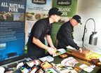 DuBreton's organic, Certified Humane pork was a hit with festival-goers at the Let's Talk About Food Festival in Boston.