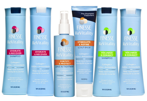 Get Younger-Looking Hair With Finesse® ReVitality, a New Anti-Aging Hair Care Line Enhanced With