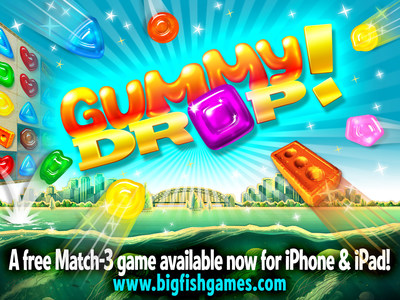Big fish launches gummy drop for mobile smartphones and for Big fish games manager