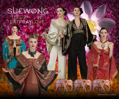 Eat Pray Love by Sue Wong - www.suewong.com/eatpraylove.  (PRNewsFoto/Sue Wong)
