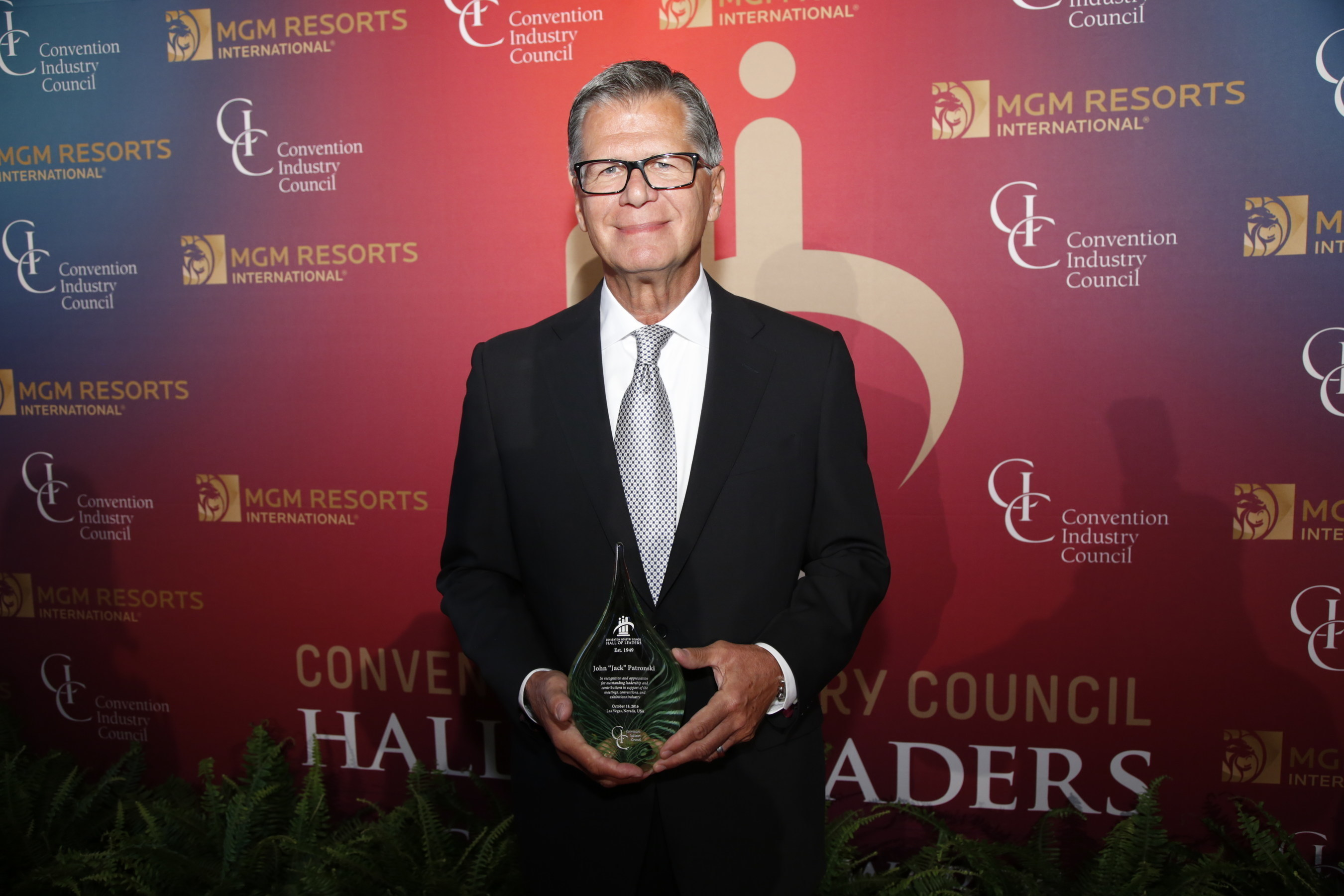 John 'Jack' Patronski of GES Inducted into CIC Hall of Leaders