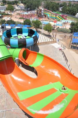 Get ready for mega water thrills at Six Flags Hurricane Harbor-Arlington, TX!  (PRNewsFoto/Six Flags Hurricane Harbor- Arlington, Texas)