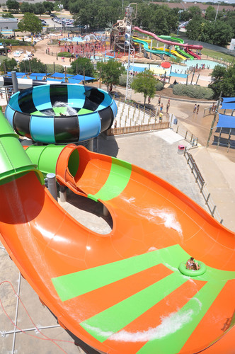 Six Flags Hurricane Harbor Opens TWO New Water Slides