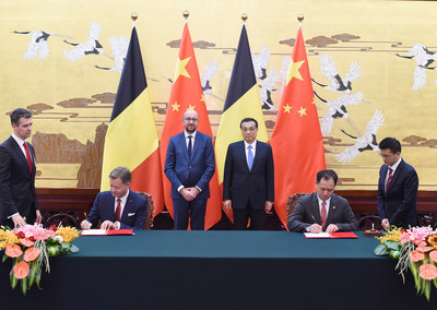 Hainan Airlines Signs Letter of Intent with Brussels Airport, In the Presence of Chinese Premier Li Keqiang and Belgian Prime Minister Charles Michel