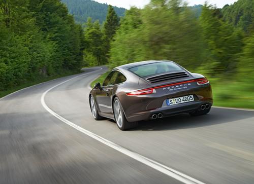 Lighter, Faster, More Agile: The New 2013 911 Carrera 4 and 911 Carrera 4S