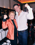"""Fitness Legend Elaine LaLanne and fitness expert Don Saladino celebrate Jack LaLanne's 100th-Year Anniversary with release of documentary, """"ANYTHING IS POSSIBLE"""" in NYC. Photo credit: Getty Images (PRNewsFoto/Tristar Products, Inc.)"""