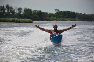 Injured service members participated in a variety of water sports activities at the 11th annual Rockaway Adaptive Water Sports Festival, hosted by Wounded Warrior Project