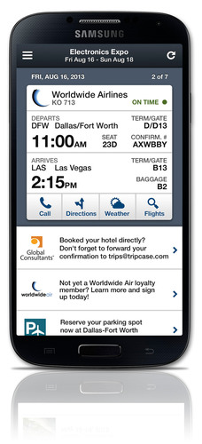 TripCase Corporate is the travel industry's first set of integrated corporate features on mobile.  ...
