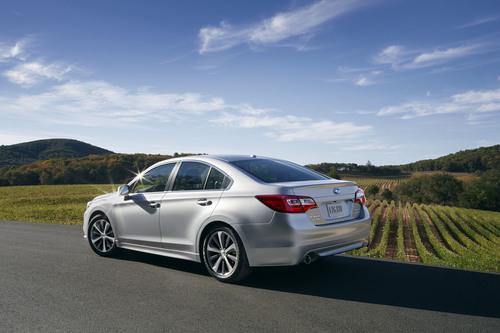 The all-new 2015 Subaru Legacy.  (PRNewsFoto/Subaru of America, Inc.)