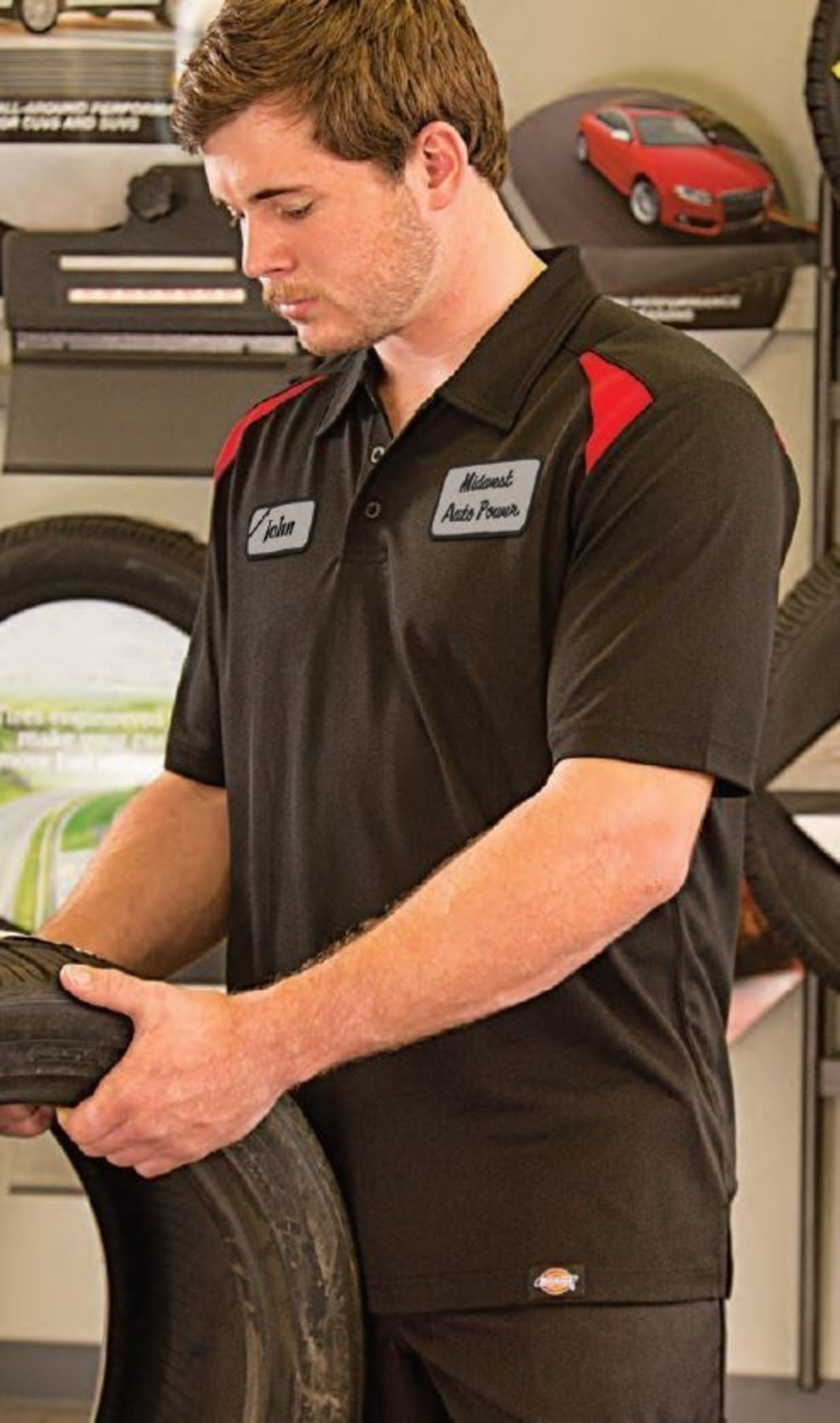 Aramark partners with Dickies to launch a new shop series collection for auto technicians.