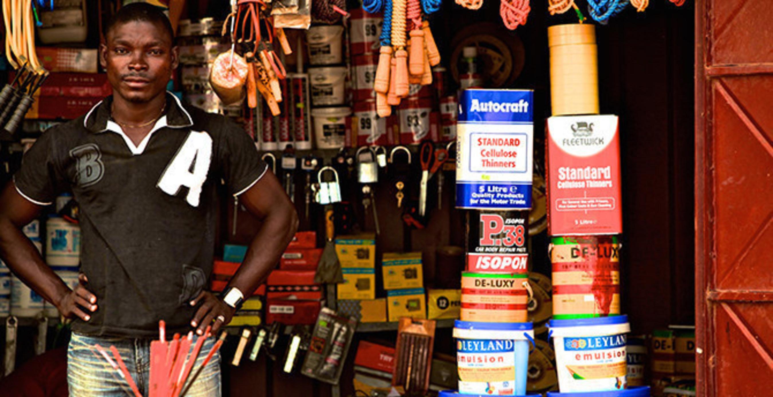 Ghanaian entrepreneur featured in Acton Institute's 'Poverty, Inc.' documentary, winner of the 2015 prestigious Templeton Freedom Award.