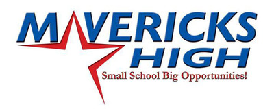 Mavericks High logo.  (PRNewsFoto/Mavericks in Education Florida, LLC)