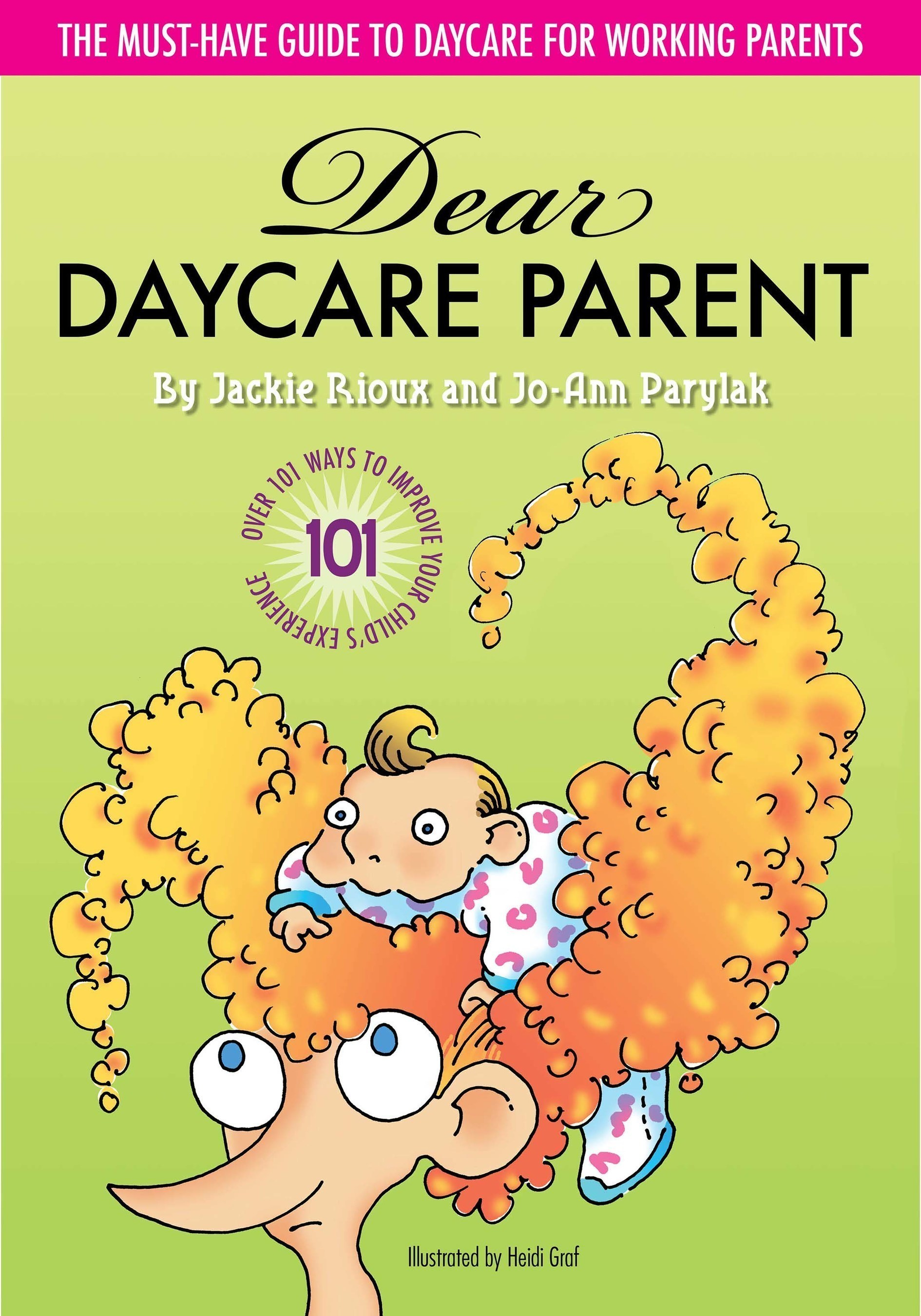 Daycare Pros Author Book for Working Parents