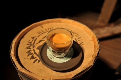 A cup of Hayman's Jamaica Blue Mountain coffee - www.haymancoffee.com (PRNewsFoto/Hayman - Finest World Coffee)